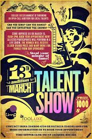 Talent Show Flyer Design 55 Free Printable Talent Show Flyer Template