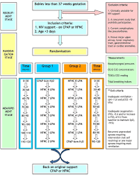 High Flow Nasal Cannula Fio2 Chart Study Flow Chart And Pathway Detailed Study Design And