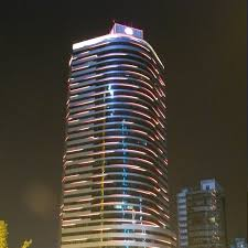 high quality rgb led hurdle lightled guardrail tube best for commercial building facades lighting t ll md50h building facade lighting
