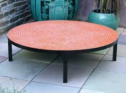 diy patio table round impressive outdoor coffee table round with styles for outdoor coffee for outdoor