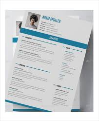 Artist Resume Example - 11+ Free PDF, PSD Documents Download ...