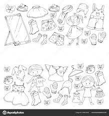 Bambini Scuola Dellinfanzia Bambini E Bambine Con I Vestiti Nuovi