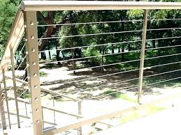 pipe fence cost cable rail residential railing build diy