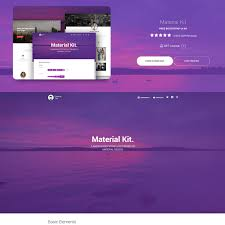 Material Design Template Download Material Design Themes