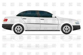 car side view white background. Simple White White Sedan  Car Side View Isolated On White Background Vector Image U2013  Artwork Of Click To Zoom Throughout Car Side View Background V
