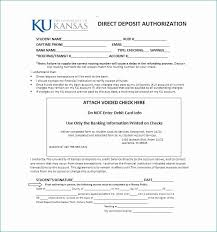 Direct Deposit Form Template Generic Direct Deposit Form Acceptable 47 Direct Deposit