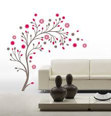 Small Picture Buy Decals Design Beautiful Magic Tree with Flowers Wall Sticker