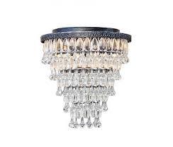the weston 7 light round glass drop chandelier antique silver