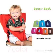 floating high chair baby sack seats portable high chair shoulder strap infant safety seat belt toddler