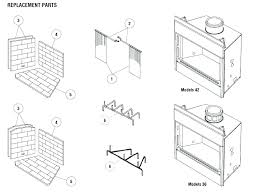 idea fireplace insert parts or fireplace insert parts amazing superior fireplace parts manual with regard to awesome fireplace insert parts