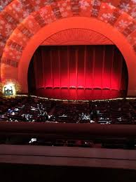 Radio City Music Hall 3d Seating Chart Radio City Music Hall Section 2nd Mezzanine 4