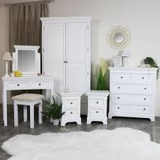 White bedroom furniture Queen White Bedroom Furniture Double ...
