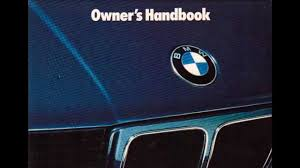 BMW Convertible bmw 328i manual pdf : BMW E34 525i New Owners Manual Audiobook - YouTube