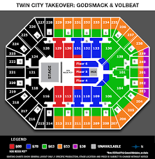 Target Center Row Chart Seating Charts Target Center