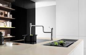 Dornbracht Kitchen Faucets Chromed Metal Mixer Tap Kitchen 1 Hole Swivel Spout Pivot
