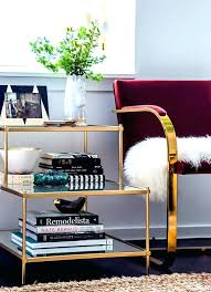 valuable glass end tables for living room home design ideas info brass and top gold round