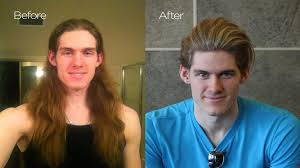 Hair Style Before And After before & after chris hemsworth haircut mens summer makeover 7185 by wearticles.com