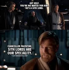 Palpatine Quotes Adorable Chancellor Palpatine Sith Lords Are Our Speciality Scattered Quotes