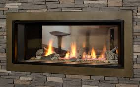 latest two sided gas fireplace