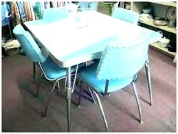 retro dining table charming top tables set room sets vintage round 50s diner for and chairs best of c kitsch n stuff s