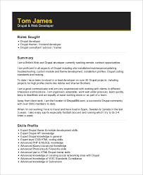 drupal-web-developer-resume