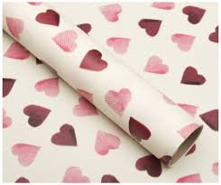 Emma Bridgewater Pink Hearts Wrapping Paper 3m (1 Roll )