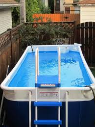 quick rectangle above ground pools small rectangular swimming