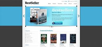 Free Bookstore Website Template Free Html Website Template With Slider Portfolio Page 9 Of 17 Free