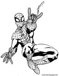 Small Picture Spiderman Coloring Pages Venom Characters not disney Coloring