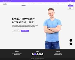 Wordpress Resume Template 6 Sility VCard CV Resume WordPress Theme .