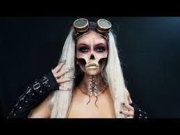 steunk makeup tutorial easy skull makeup