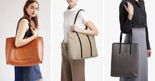 these vegan leather totes are modern and functional making them perfect for women s fashion