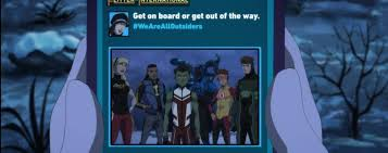 SDCC '19: Greg Weisman & Brandon Vietti wage social media war in YOUNG  JUSTICE: OUTSIDERS - The Beat