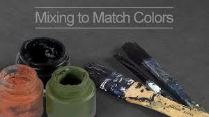 How To Match Colors In A Painting
