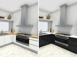 kitchen design with diffe cabinet and countertop options