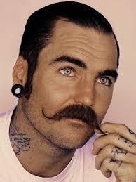 plugs tattoooustache moustache moustache just wow