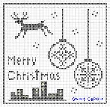 Sweet Capriceクロスステッチ生活 Merrychristmasクロスステッチ