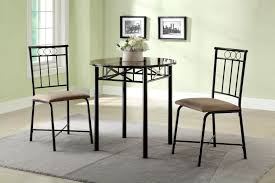3 Piece Dining Set 3 Piece Faux Marble Top Dining Set City Creek Furniture