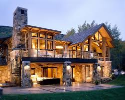 rustic lake house plans fresh walkout basement house plans for a rustic exterior with a stacked