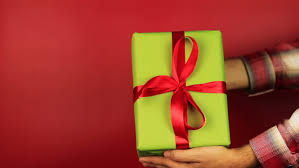 Gifts Background Young Man Gives A Gift Stock Footage Video 100 Royalty Free 20586688 Shutterstock