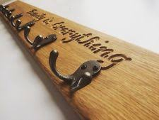 Personalised Coat Rack Oak Coat Rack Storage Solutions eBay 65