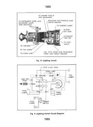 chevy wiring diagrams 1955 lighting switch circuit