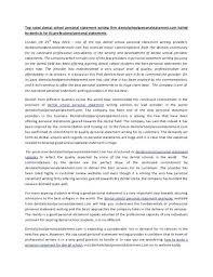 Professional Statement Examples Extraordinary Graduate School Personal Statement Template Business University