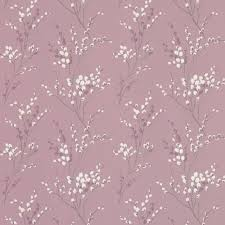 Lilac Bedroom Wallpaper Pussy Willow Grape Floral Wallpaper Combine With Purple Silk