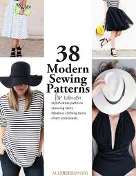 Modern Sewing Patterns Gorgeous 48 Trendy Modern Sewing Patterns For Women AllFreeSewing