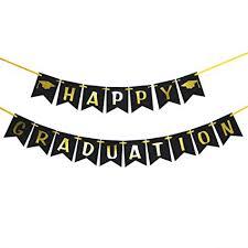 Amazon Com Innoru Happy Graduation Banner Class Of 2019