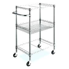 3 tier utility cart canada room essentials with wheels chrome