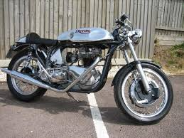 1962 triton with 650cc triumph t110 engine what a lovely machine