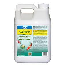 amazon com api pond algaefix pond algaecide 2 5 gallon pet supplies