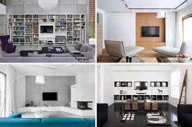 Living rooms tv Simple Tv Wall Design Ideas For Your Living Room Contemporist Tv Wall Design Ideas For Your Living Room Contemporist